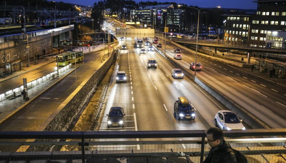 TRAFIKKAOS? Statistikk fra GPS-produsent Tomtom viser at Oslo-trafikken har hatt en økning på fem prosent det siste året. Foto: Stein J. BJørge