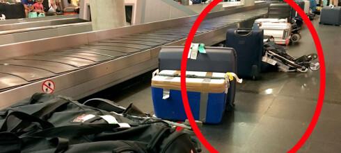Lar du bagasjen stå mens du shopper taxfree?
