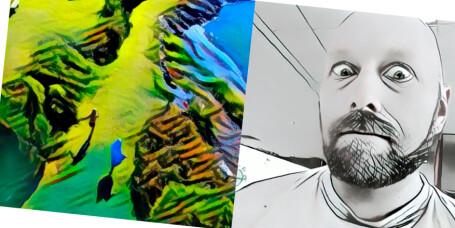 Artisto lager Prisma-effekter på videoer