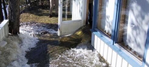 Sjekklisten om det blir oversvømmelse hjemme hos deg