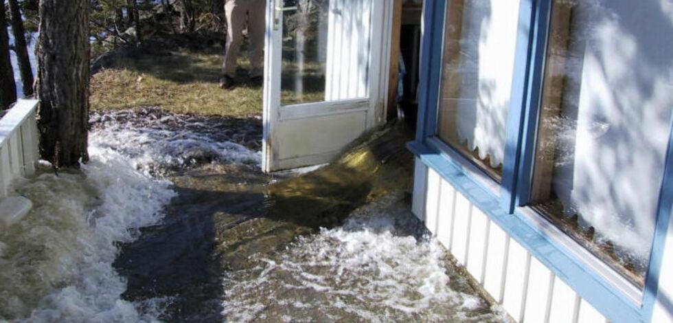 image: Sjekklisten om det blir oversvømmelse hjemme hos deg