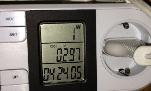 image: Så mye strøm bruker dingsene dine