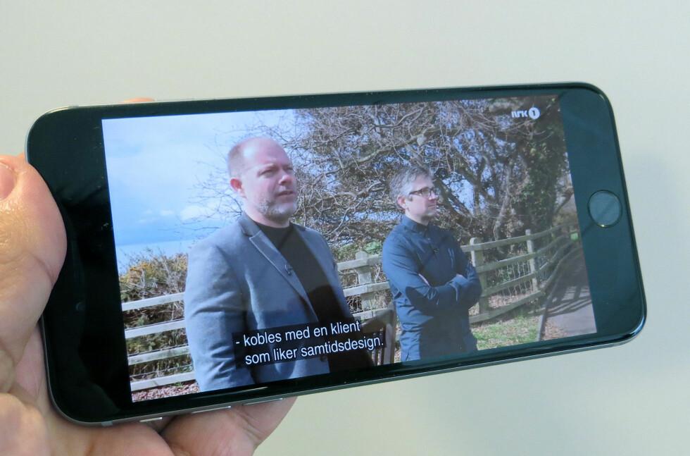 FULL TILGANG: Med VPN-tjenesten Freedome beskytter du smartmobilen når du er tilkoblet usikre nett i utlandet. I tillegg får du tilgang til innhold som kun er beregnet for Norge. Foto: BJØRN EIRIK LOFTÅS