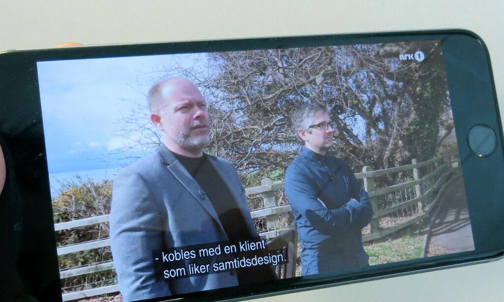 image: Her ser vi NRK på mobilen i utlandet