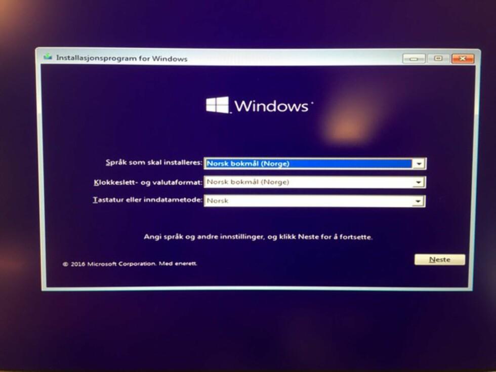 Slik fjerner du Windows 10 «Aniversary Update»