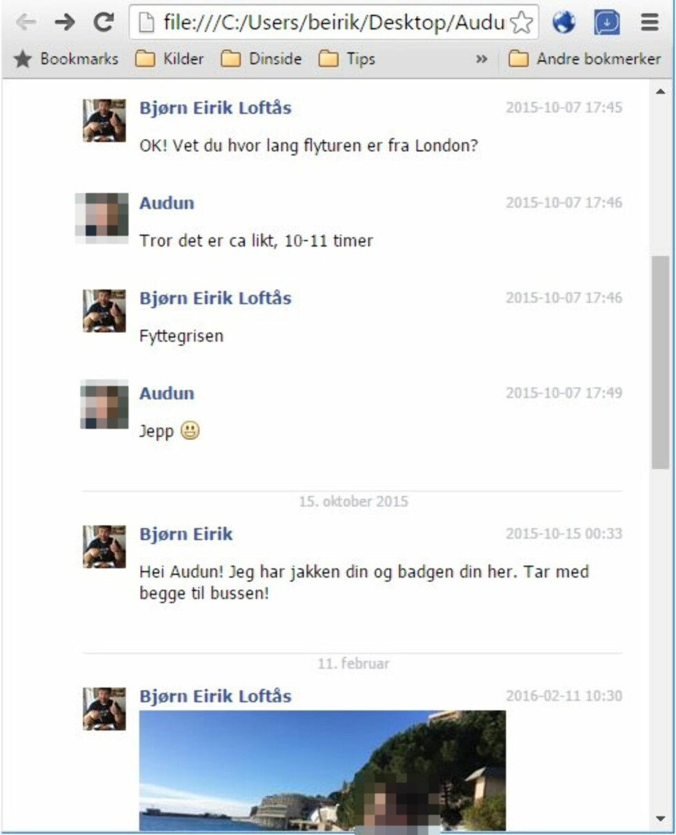Slik laster du ned hele Facebook Messenger-samtaler