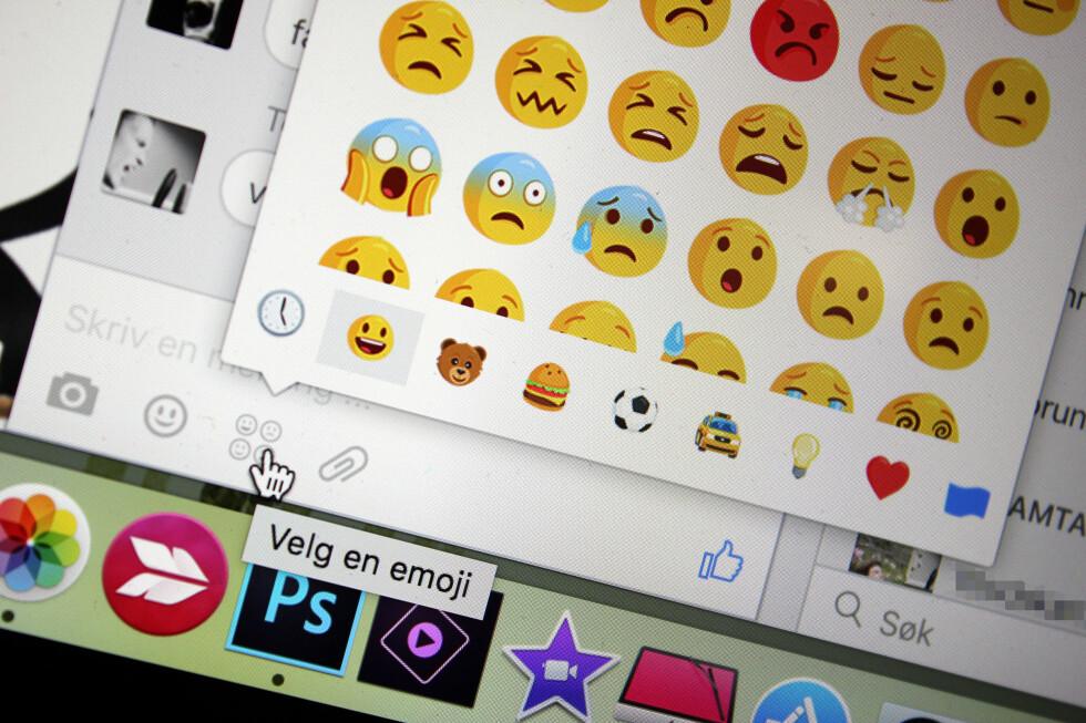 LAST NED ALT: Denne Chrome-utvidelsen lar deg laste ned hele samtaler fra Facebook Messenger, inkludert bilder, videoer og emojier. Foto: KIRSTI ØSTVANG