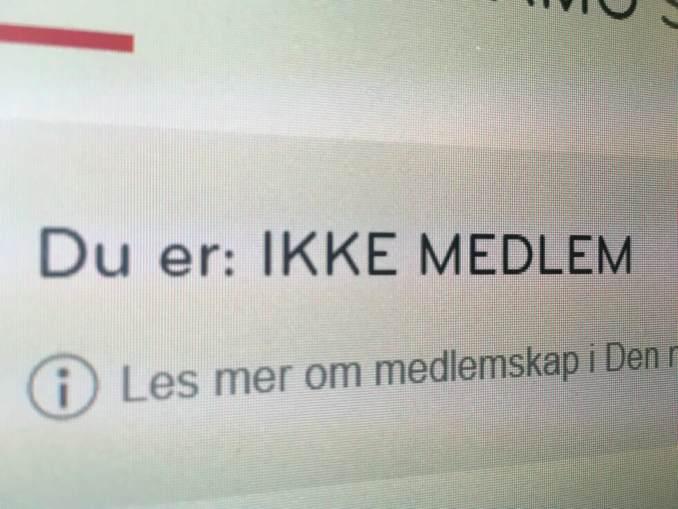 """SJEKK SELV: Du kan enkelt sjekke din """"status"""" via den nye tjenesten. Foto: HANNA SIKKELAND"""