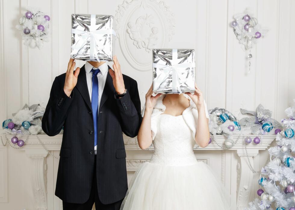 MEST RAUSE I BRYLLUP: - En undersøkelse vi gjennomførte i 2011 viser at nordmenn er rause når de inviteres til bryllup. Dette er den begivenheten hvor gjestene er mest spandable, og det er spesielt foreldre og besteforeldre som åpner lommeboken på vidt gap, forteller Elin Reitan. Foto: AVRORA STUDIO/SHUTTERSTOCK/NTB SCANPIX