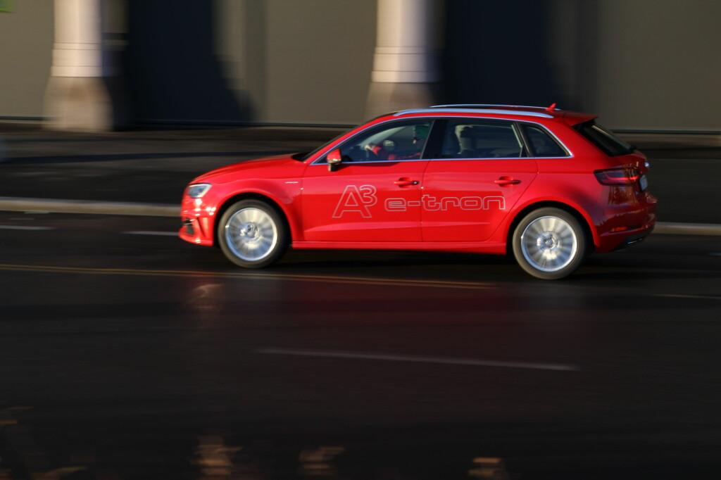 KVIKK: Den kjører og oppfører seg som en helt normal A3. Foto: RUNE M. NESHEIM