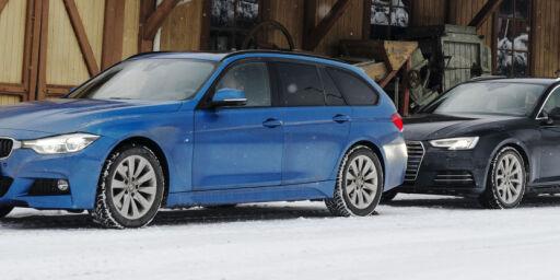 image: Audi A4 2.0 TDI Quattro mot BMW 320 X-drive