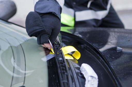 VÆR FORSIKTIG: Pass på så du har gjort alt du kan for å betale før du forlater bilen. Foto: NTB SCANPIX