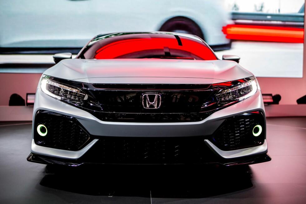 Honda Civic Hatchback Prototype at Geneva Motor Show 2016 Foto: HONDA