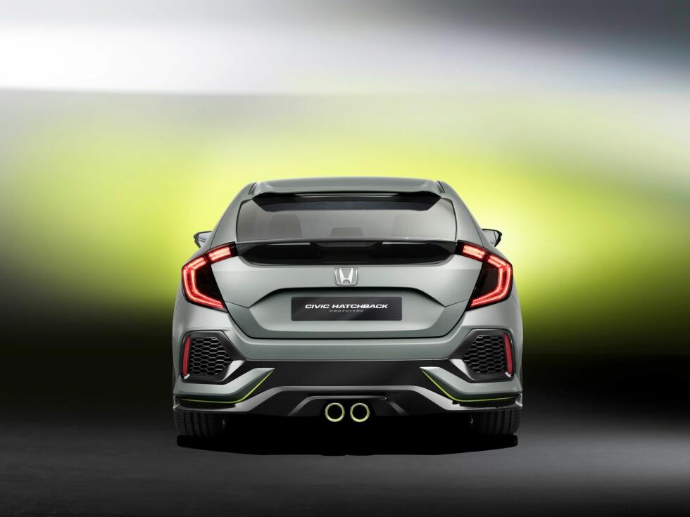 Civic Hatchback Prototype Foto: HONDA