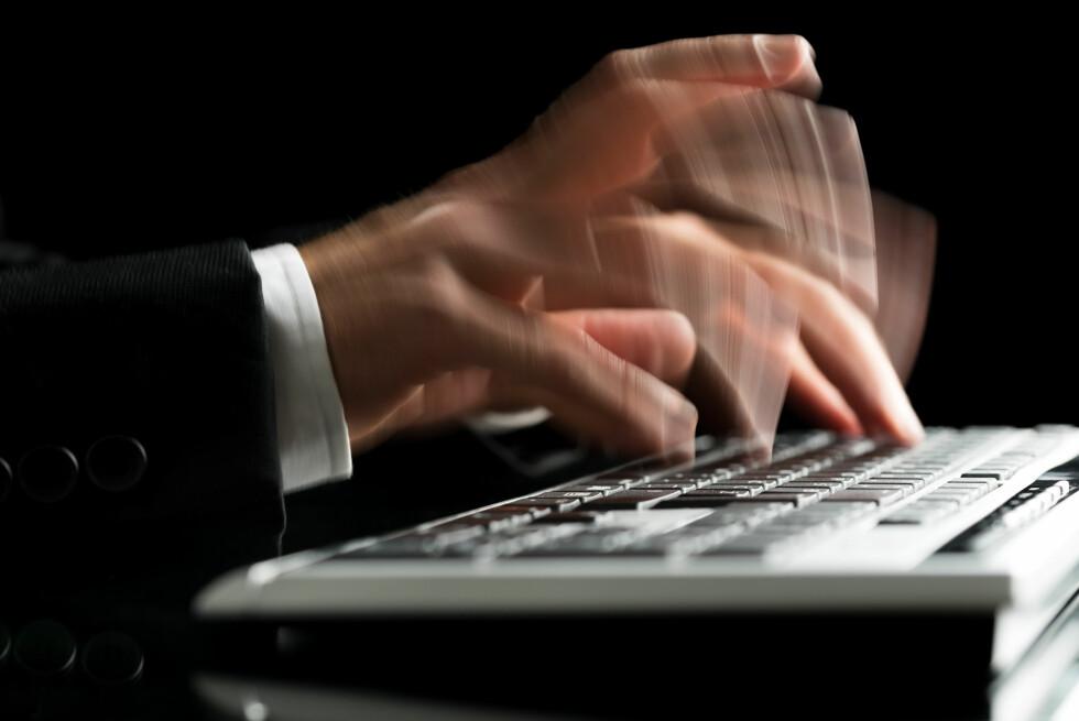 SMART: Det finnes programmer som automatisk kan erstatte litt tekst med mer tekst, og som derfor gjør deg mer effektiv bak tastaturet. Foto: Gajus / Shutterstock / NTB Scanpix