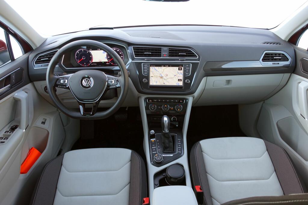 NYKVESSET: Når det kommer til valuta for penga, så er VW flinke til å stadig forbedre utstyrsnivået.                   Foto: ESPEN STENSRUD