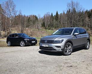image: Duell: BMW X1 mot VW Tiguan?