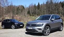Duell: BMW X1 mot VW Tiguan?