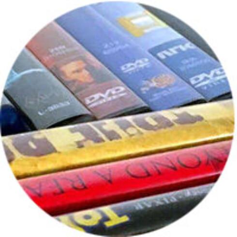 FILMFRELST: Hvis du ser DVD-filmer eller spiller musikk-CD-er, kan du vurdere en PC med optisk drev. Foto: Bjørn Eirik Loftås