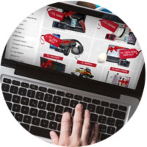 NETTHANDEL: Det er enkelt og trygt å handle PC fra sofakroken. Foto: Dinside
