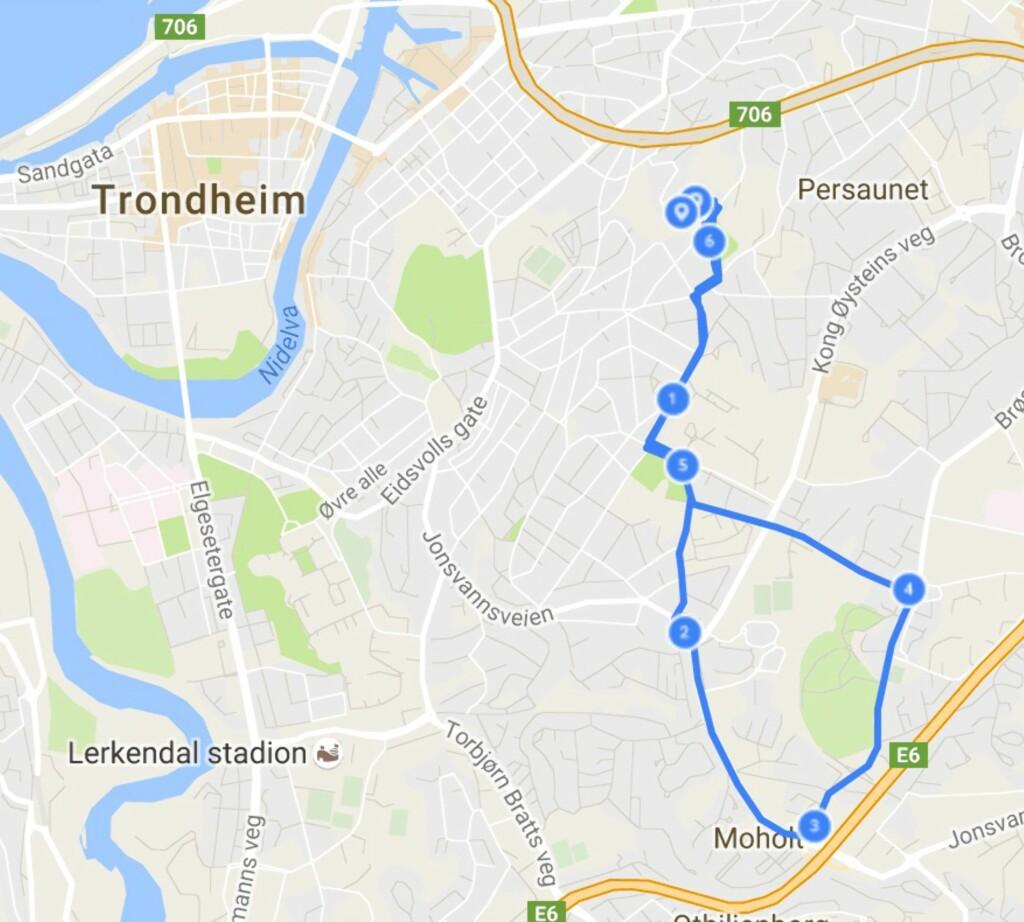 FINN EI RUTE: Endomondo er en sosial treningsapp der du enkelt kan finne løpe- og syklerunder andre pleier å ta i nærheten av der du befinner deg.