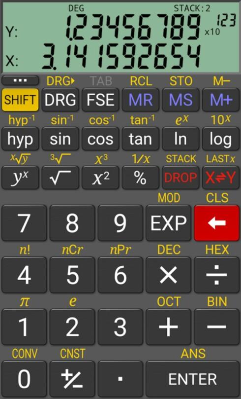 GLEMT KALKISEN? Da finnes det flere kalkulator-apper som kan fungere som backup. Du får neppe bruke dem på eksamen, dog.