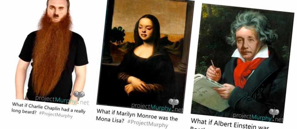 MORSOMT: Spør Microsofts chatbot «Hva om?» og så får du et bildesvar. Foto: MICROSOFT
