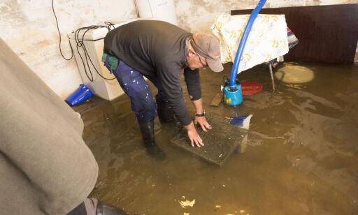 image: Med vannsensor får du varsel om vann i kjelleren
