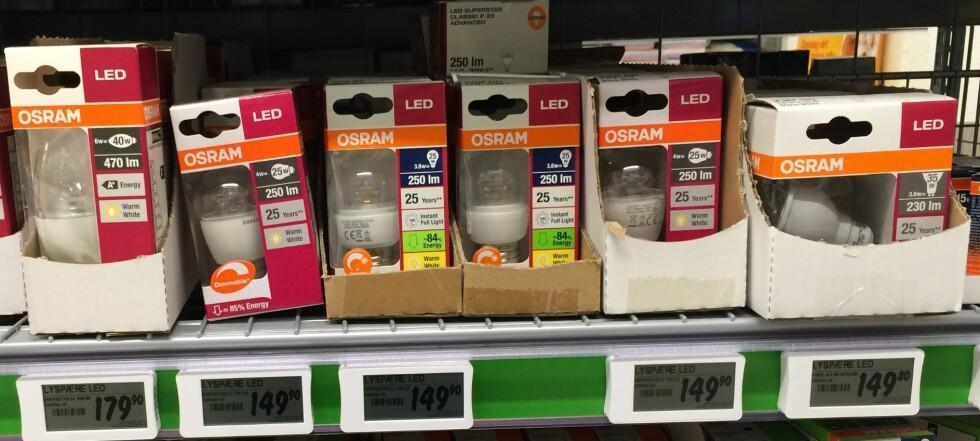 GUIDE: Velg riktig LED-pære