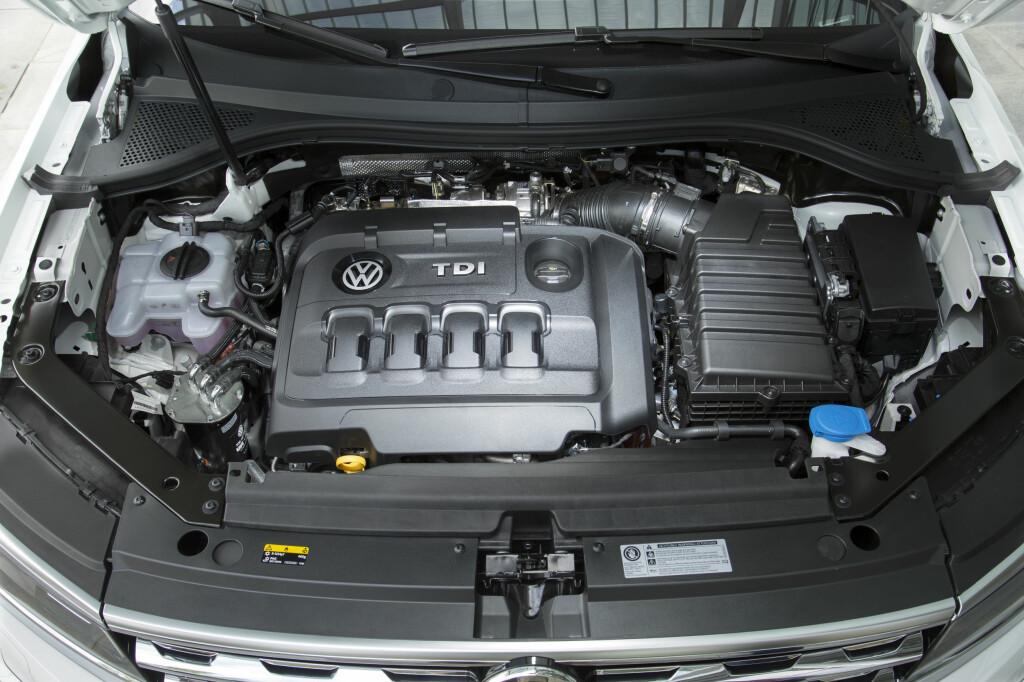 240 HESTEKREFTER: Med 500 Nm dreiemoment er den nye 2-literen en råsterk sak.  Foto: VW