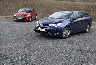 Test: Ford Mondeo vs. Toyota Avensis