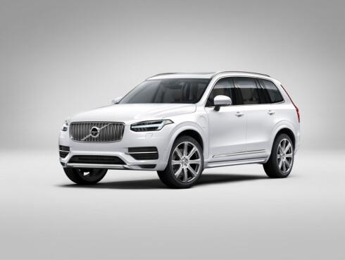 STOREBROR: Volvo lanserte nylig den nye generasjonen Volvo XC90. Dette er Volvos nye ansikt, som kommer på alle de nye modellene framover. Foto: VOLVO