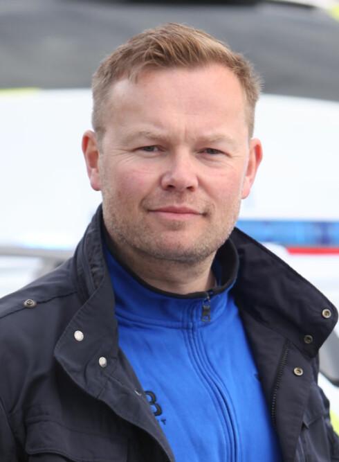 GIR GASS: - Volvo satser stort med nye modeller framover, sier PR- og informasjonsdirektør Rune Gutteberg. Foto: ESPEN STENSRUD