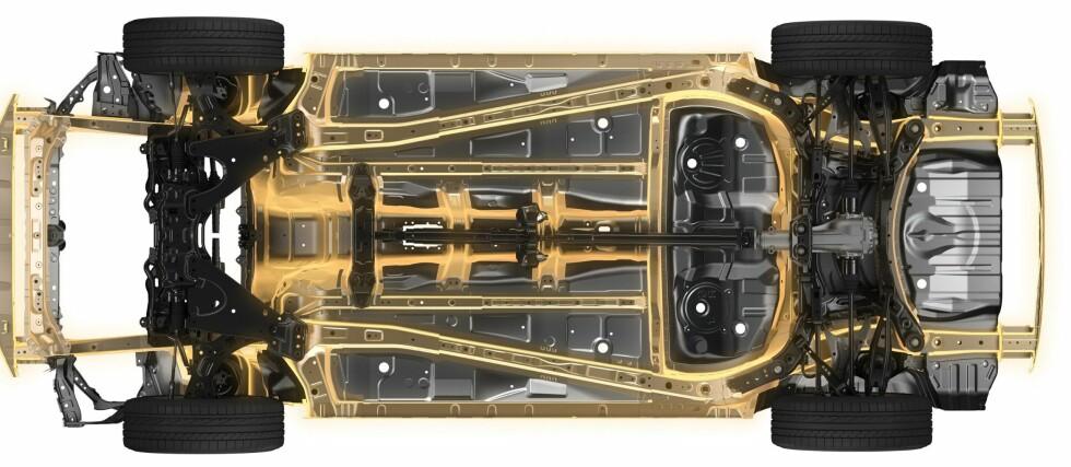 KOMMER ETTER: Subaru skal ifølge flere medier lansere fullelektrisk bil i 2021. Foto: SUBARU