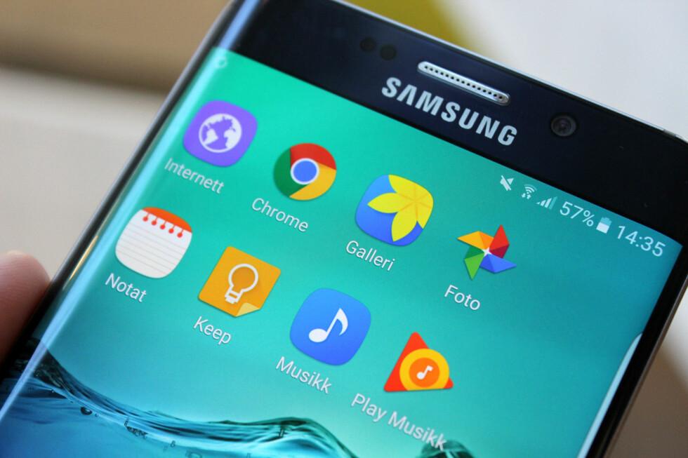 HVILKEN SKAL DU VELGE? Har du en Android-mobil har du ofte to av samme type app installert, deriblant nettleser, fotogalleri og notatapp. Er det noen grunn til å velge den ene over den andre? Ja, definitivt! Foto: KIRSTI ØSTVANG