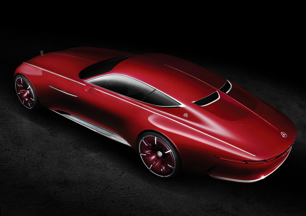 Vision Mercedes-Maybach 6: Studie eines extravaganten Coupés der Luxusklasse; 2016 ;Vision Mercedes-Maybach 6: Study of an ultra-stylish luxury-class coupé; 2016;  Foto: Daimler AG