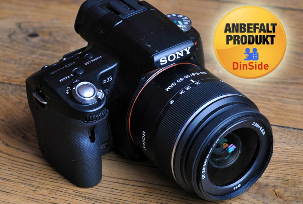 Sony Alpha A33 er proppfull av funksjoner, lett og raskt å bruke og tar gode bilder.