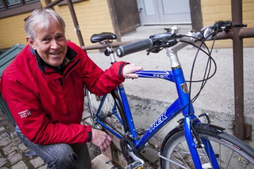 Svein Fagervold er fagkonsulent i Syklistenes Landsforening, og erfaren syklist. Foto: Per Ervland