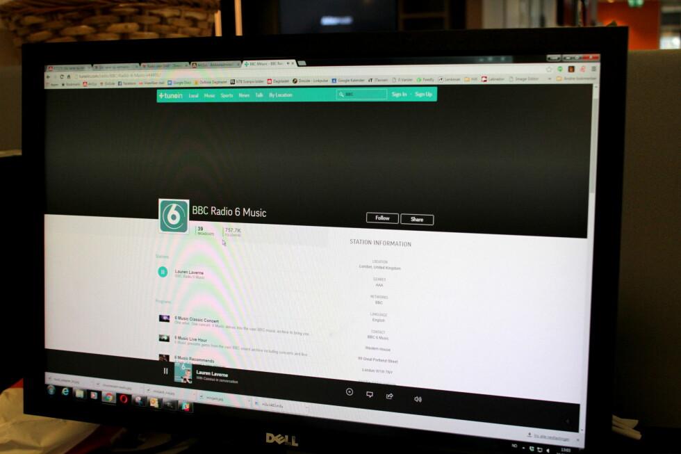 I NETTLESEREN: Har du en PC du ikke bruker stort lenger, kan du for eksempel bruke den som nettradio. Foto: TORE NESET