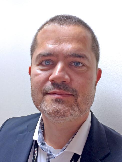 IKKE OVERRASKET: Salgssjef Lars Løfsgaard i Ibas lever blant annet av å slette ting, for godt. Og å få tilbake ting kunder trodde de hadde slettet for godt. Foto: IBAS