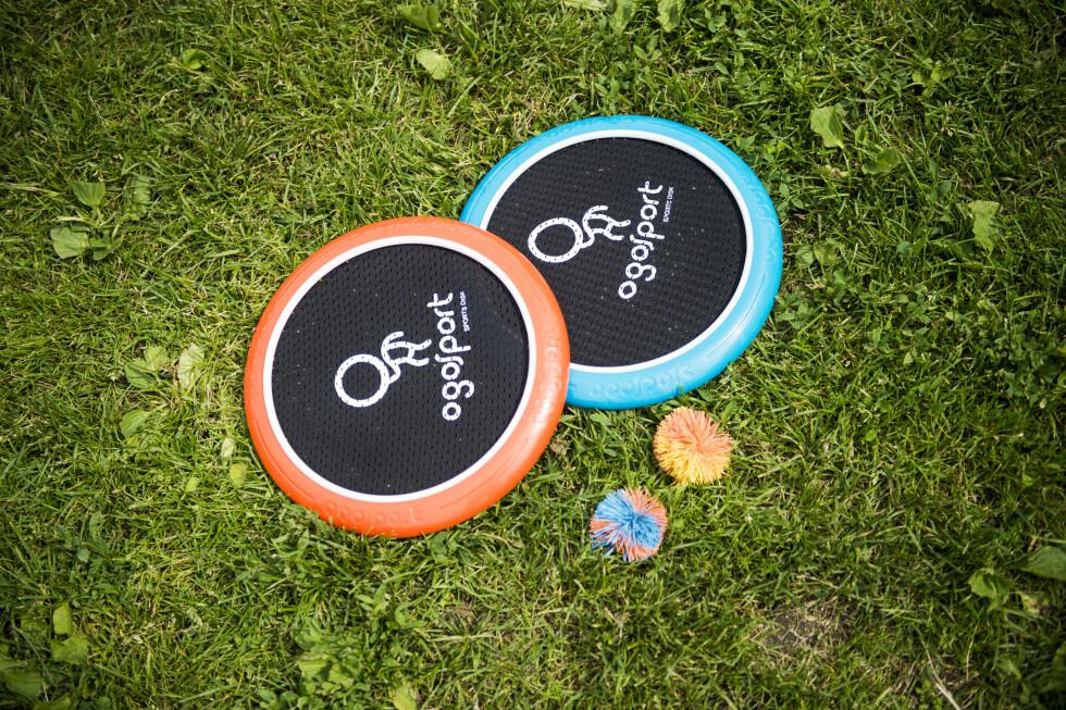 <B>MORSOMT: </b>OgoDisk-XS fra OgoSport ser kanskje ikke ut som all verdens, men det er faktisk ganske gøy!  Foto: ENDRE VELLENE