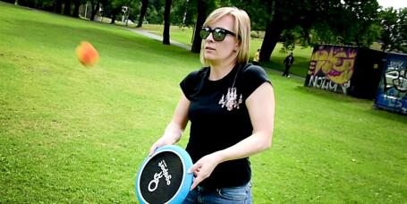 OgoSport OgoDisk-XS – badminton, frisbee eller hatt?