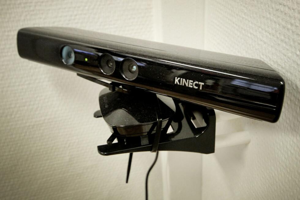 KINECT: Kinect er kanskje best kjent fra Xbox, hvor det brukes til å registrere bevegelse. Foto: OLE PETTER BAUGERØD STOKKE