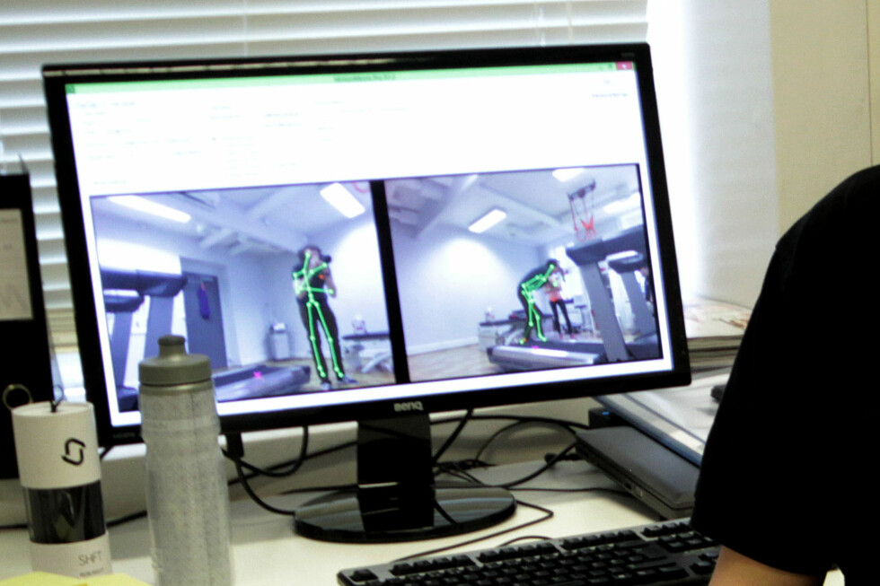 SLIK REGISTRERES DU: Slik registrerer Kinect-sensorene kroppen og bevegelsene dine. Foto: OLE PETTER BAUGERØD STOKKE