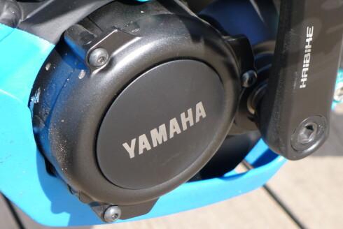 <strong><B>JAPANSK:</strong></B> Yamaha har holdt på med krankmonterte elmotorer i over 20 år. Foto: TORE NESET