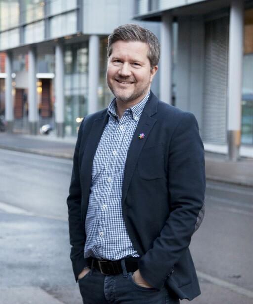BEKYMRET: Erik Vigander, pressesjef i Kreftforeningen, håper ikke den amerikanske testen speiler forholdene her til lands også. Foto: Øyvind Bjørkum