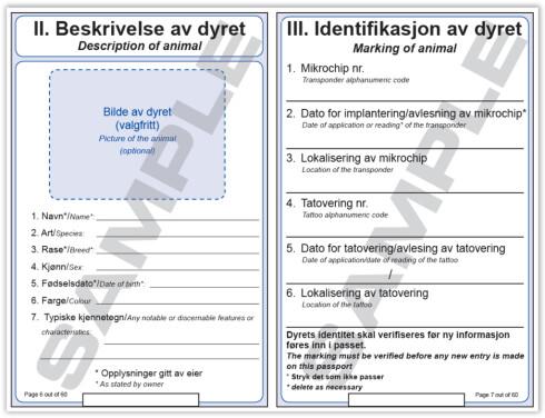 BEDRE SIKKERHET: I det nye passet vil ID-siden lamineres. Foto: MATTILSYNET