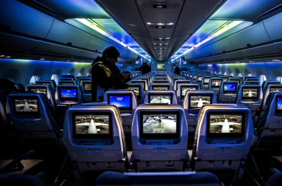 AVGIFT: Fra 1. juni blir det 80 kroner mer å betale for flysetet - pluss moms. Foto: HALVOR SOLHJEM NJERVE/DAGBLADET