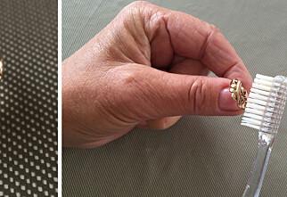 Nei - ikke puss gullringen! Salmiakk-trikset rengjør gull på minutter