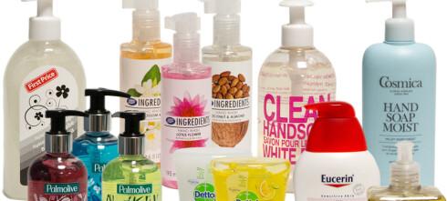 Test av håndsåper: Her er de beste og verste såpene
